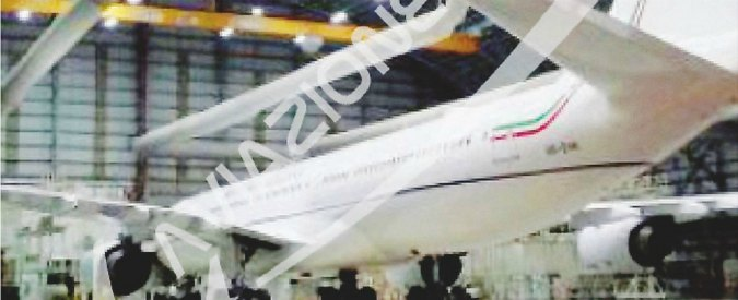 Air Force Renzi costa 40mila euro al giorno. Contratto secretato, ma le cifre sono in un report