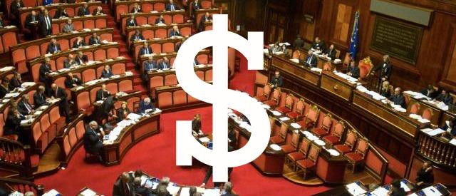 Partiti, fino a 150mila euro per un seggio. Il tariffario della democrazia in vendita