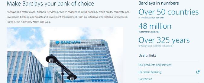 Borse parallele, negli Usa multa da 154 milioni a Credit Suisse e Barclays