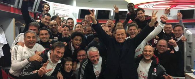 Milan-Inter, il derby con gli occhi di Berlusconi: costretto a festeggiare Kucka dopo aver ammirato Rijkaard