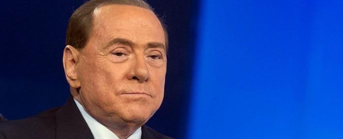 Silvio Berlusconi all'ospedale San Raffaele di Milano dopo uno scompenso cardiaco