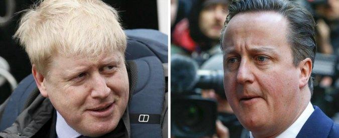 "Brexit, Johnson: ""Via da Ue"". E Cameron attacca sindaco di Londra: ""Punti a leadership Tory"""