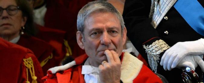 """Magistrature in lotta, il primo presidente della Cassazione sotto tiro: """"Le commissioni tributarie non si toccano"""""""