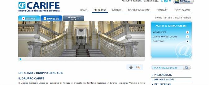 Carife, quattro nuovi avvisi di garanzia a dirigenti delle banche che hanno partecipato ad aumento di capitale