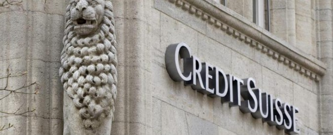 Credit Suisse, la Guardia di Finanza chiede al fisco elvetico i nomi di 10mila clienti italiani