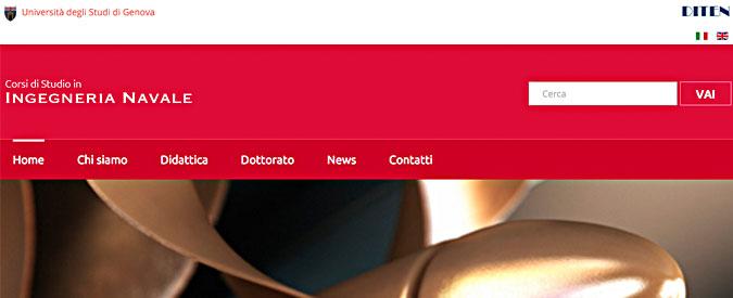 Genova, a rischio il corso di Ingegneria navale: solo 15 docenti per mille studenti