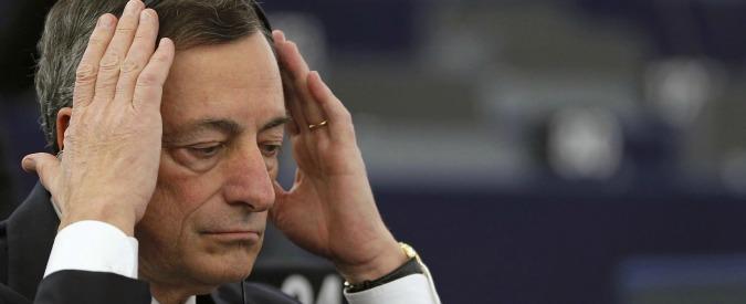 """Banche, Draghi: """"Nessun negoziato con l'Italia sull'acquisto delle sofferenze, non compriamo niente"""""""