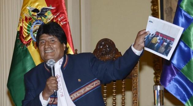 BOLIVIA-LA PAZ-POLITICS-MORALES