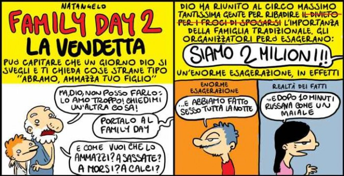 Family Day 2 – La vendetta