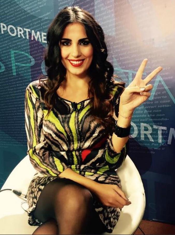 Francesca Brienza, la fidanzata di Rudy Garcia sospesa dal tg di Roma Channel per un like su Facebook