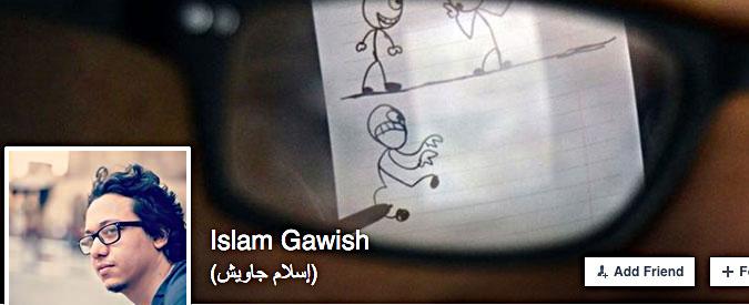 Egitto, il vignettista Islam Gawish in manette per aver criticato il governo: rilasciato dopo poche ore