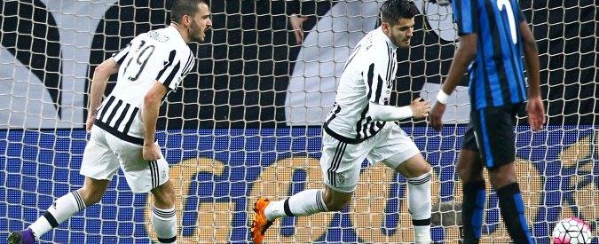 Juventus-Inter 2-0: Bonucci e Morata disinnescano il catenaccio di Roberto Mancini – Video