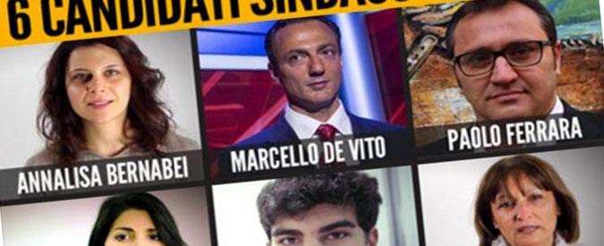 Roma, comunarie M5S: ecco i sei nomi che si giocheranno la candidatura a sindaco