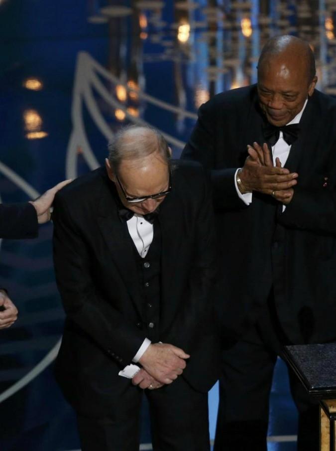 Oscar 2016, da Sergio Mattarella a Emis Killa: tutta l'Italia orgogliosa di Ennio Morricone