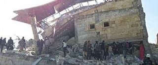 """Siria, bombe sugli ospedali. Onu: """"Almeno 50 morti"""". Turchia: """"E' stata l'aviazione di Mosca"""". Damasco: """"Opera di jet Usa"""""""