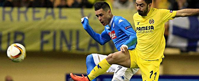 Europa League, inizia male il turno delle italiane. Lazio e Fiorentina pareggiano, Napoli sconfitto dal Villareal – Video
