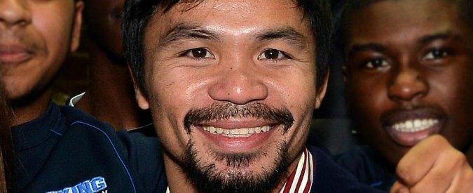 """Manny Pacquiao: """"I matrimoni gay? Ripugnanti"""". E Nike rescinde il contratto"""