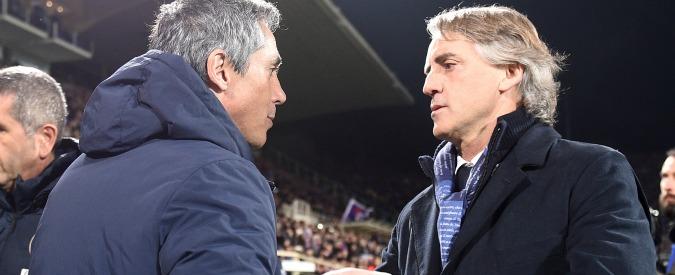 Fiorentina-Inter, un girone dopo: svanito sogno scudetto, la realtà dice che la Viola ha un'idea di gioco. Mancini no – Video