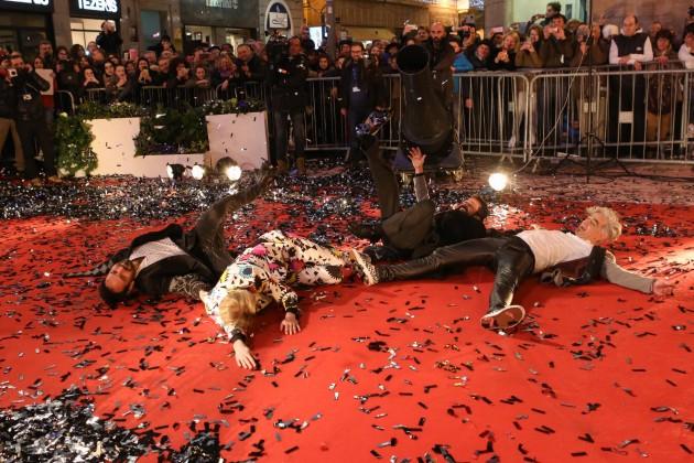 Red carpet del Festival della Canzone Italiana di Sanremo - Bluvertigo