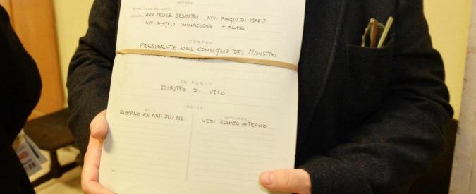 """Italicum, il tribunale di Messina rinvia alla Consulta la legge elettorale: """"Dubbio di costituzionalità sui nominati"""""""