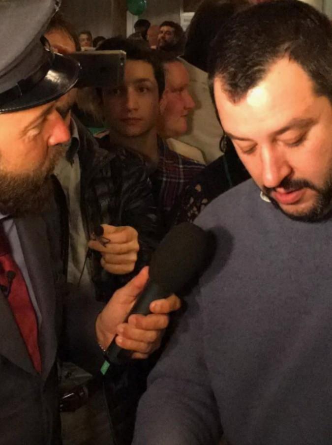Matteo Salvini a C'è posta per te, il 5 marzo ospite del programma di Maria De Filippi
