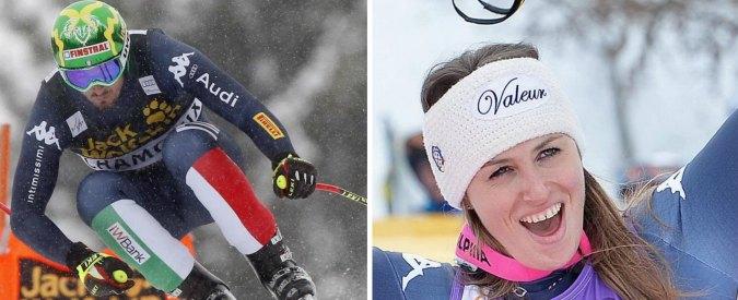 Sci coppa del mondo, doppietta azzurra: Fanchini vince a La Thuile, Paris domina a Chamonix. E' la sesta nella storia