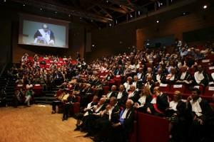 """Conferimento laurea honoris causa in """"Comunicazione e Culture dei Media"""" a Umberto Eco"""