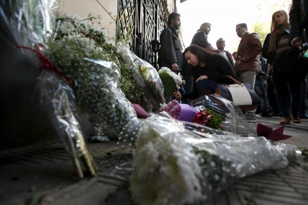 Ricordo di Giulio Regeni ad ambasciata Italia al Cairo