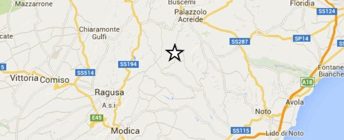 """Terremoto tra Siracusa, Catania e Ragusa: scossa di magnitudo 4.6 . """"Nessun danno"""""""