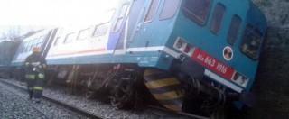 Maltempo, due morti in Veneto e in Calabria. A Biella un treno deraglia