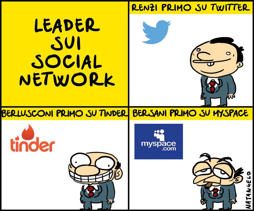 Renzi, primo su Twitter