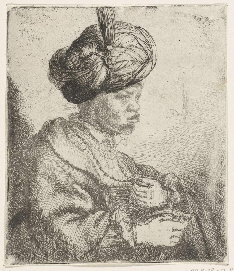 Anthony de Haen (1656 – 1675), acquaforte, Rijksmuseum, Amsterdam