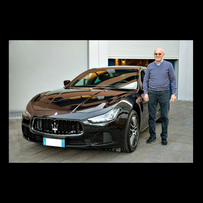 Maserati, Arrigo Sacchi si regala una Ghibli