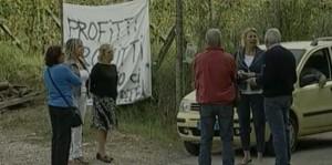 Discarica Limoncino proteste