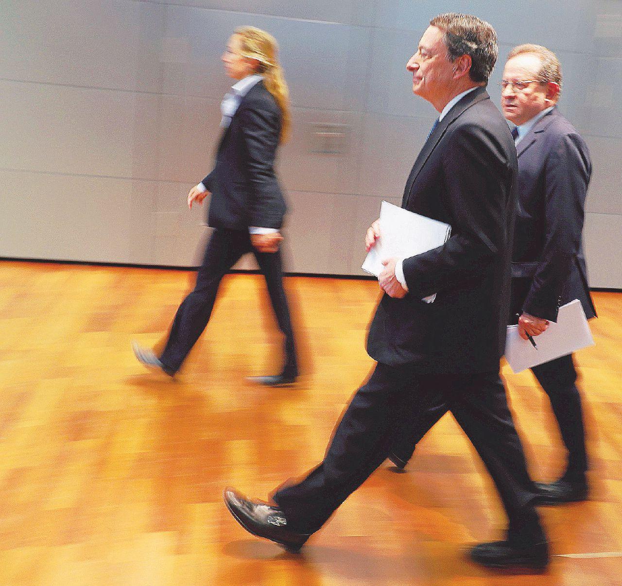 Banche, niet sulle fusioni. La Bce fa tremare l'Italia