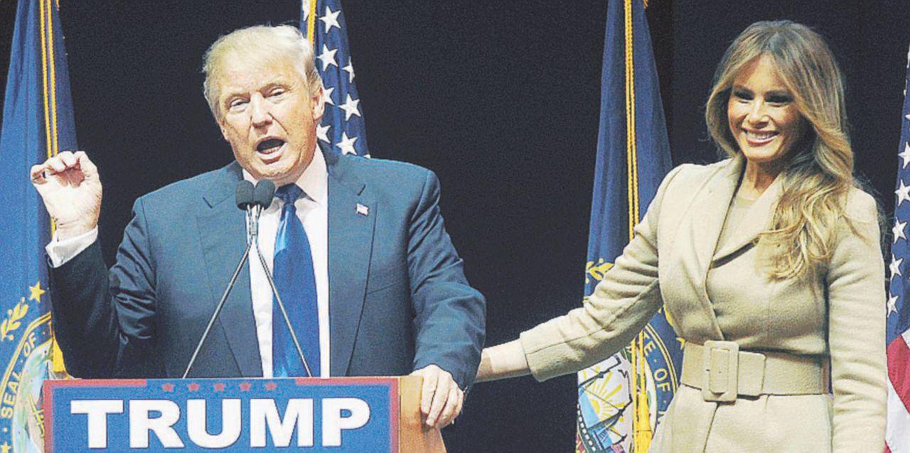 Altro che dibattiti,  fra Cruz e Trump è guerra di mogli