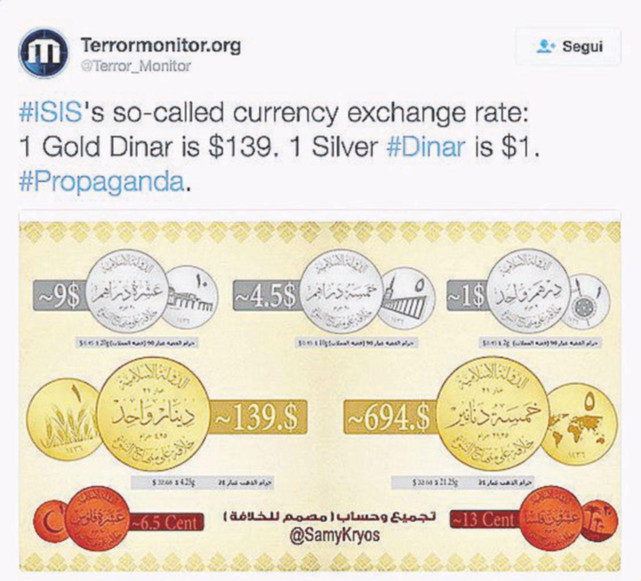 Altro che monete del Califfo, a Raqqa le multe si devono pagare in dollari