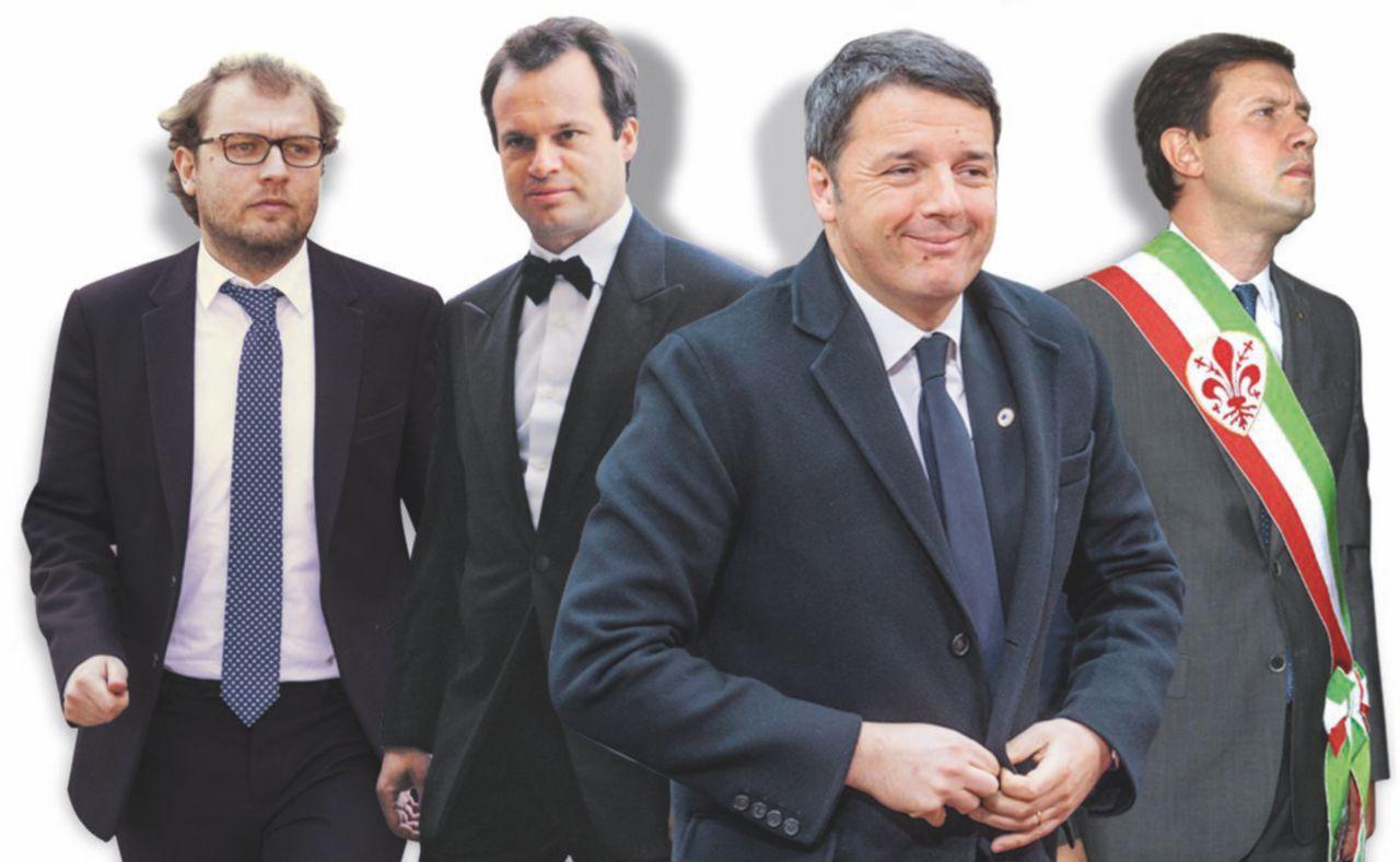 Il premier sindaco: affari  a Firenze con Lotti e Carrai