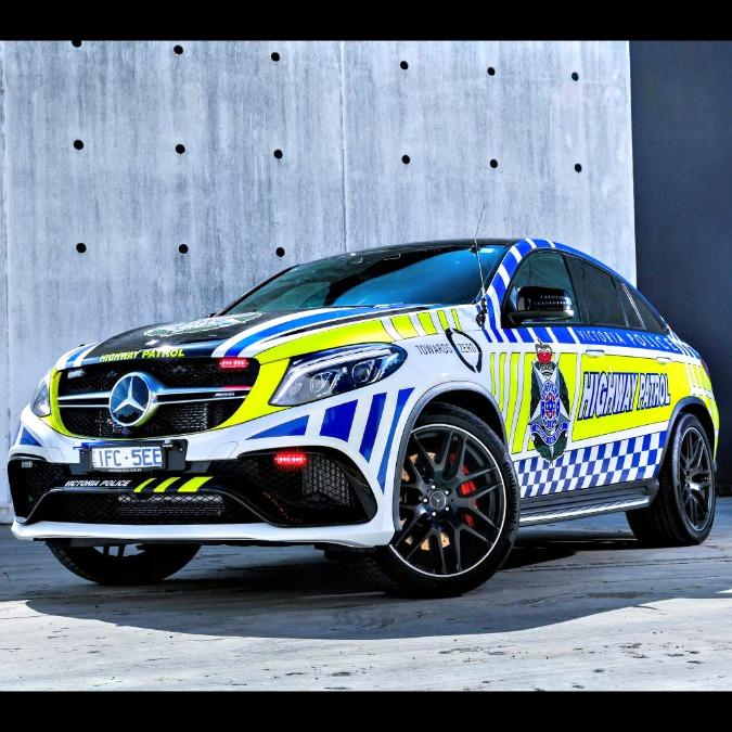 Australia, una Mercedes GLE 63 Amg per la polizia di Victoria