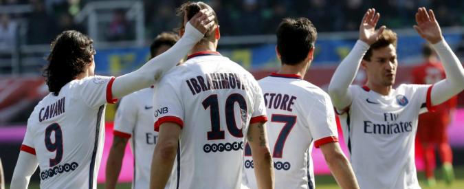 Ibrahimovic fa 4 gol e il Psg diventa campione di Francia. E' il quarto scudetto consecutivo – Video