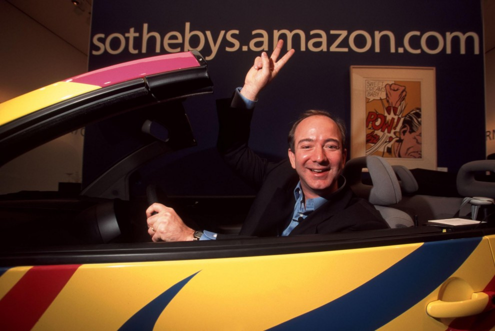 5. Jeff Bezos 45,2 miliardi di dollari Americano, è il fondatore di Amazon. Nel 2014 ha acquistato il Washington Post.