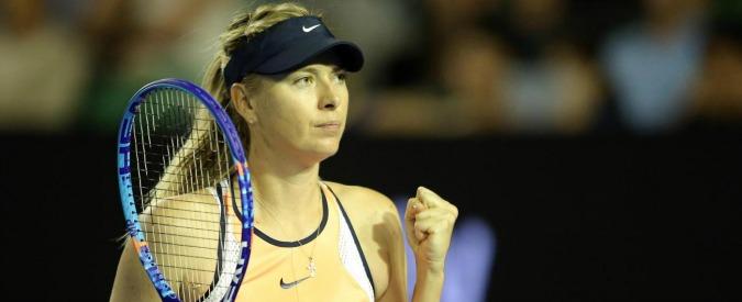 "Maria Sharapova, ""trovata positiva a un test antidoping all'Australian Open"""