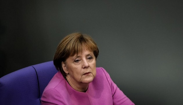 Germania, Angela Merkel al Bundestag di Berlino