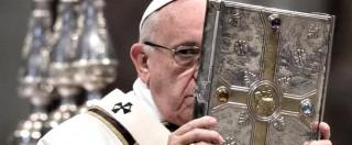 """Attentanti Bruxelles, Papa lava piedi ai migranti di Castelnuovo: """"Dietro le stragi ci sono trafficanti e fabbricatori di armi"""""""