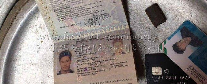 """Giulio Regeni, ultima versione del Cairo: """"Ucciso da banda di rapitori specializzati in rapine e sequestri di stranieri"""""""