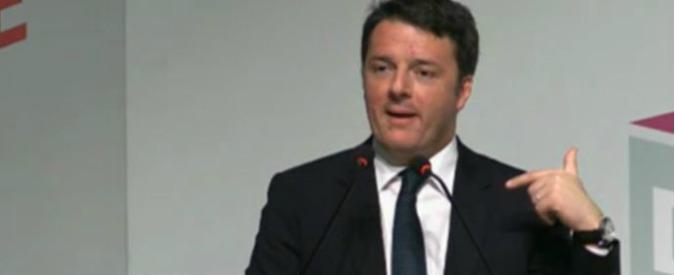 """Referendum, Renzi: """"E' una bufala che sia sulle trivelle e sulle rinnovabili. Astensione è scelta legittima"""""""