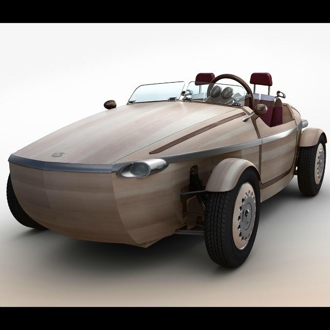 Toyota Setsuna, la concept car di legno che viene dal Giappone