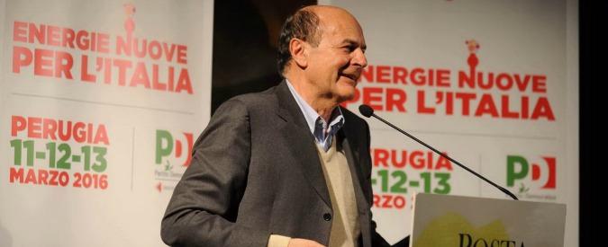 """Pd, Bersani: """"Cappa di conformismo. Credito cooperativo? Fiducia la chiedano a Verdini, di banche se ne intende"""""""