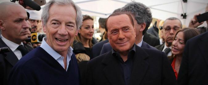 """Comunali Roma 2016, Berlusconi inaugura le gazebarie: """"Bertolaso fuoriclasse, tutti gli altri fanno ridere"""""""