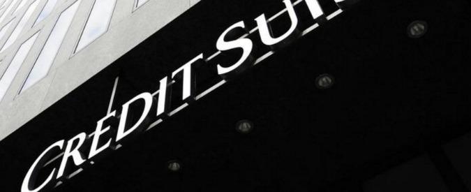 """Credit Suisse, la banca svizzera indagata a Milano per frode fiscale: """"Coinvolti almeno 13mila italiani, 14 miliardi evasi"""""""